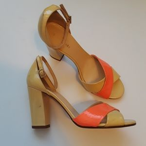 Kate Spade | yellow orange patent leather …